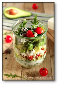 Shirazi Salad – My Salat Healthy Salad Recipes, Clean Recipes, Healthy Snacks, Vegetarian Recipes, Healthy Eating, Mango, Slow Food, Avocado Salad, Food Design