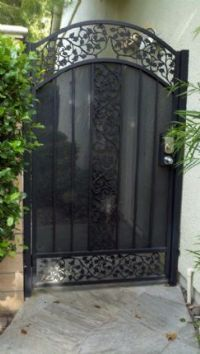 10 Best Privacy Gates Images Wrought Iron Fences Iron