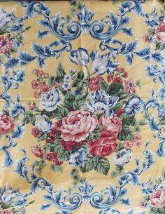 WtW Fabric Home Decor Floral Garden Rose Cliff Barrow Cottage Shabby Vintage +++