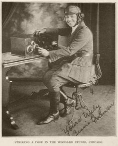 FLY GIRL  African American aviatrix Bessie Coleman (1892 - 1926).