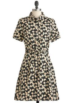 Merry Poplin Dress, #ModCloth