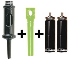 Cork Pops Bottle Opener with 2 Refill Cartridges and 1 Pocket Corkscrew -- You can find more details by visiting the image link.Note:It is affiliate link to Amazon.