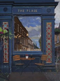 The Flask, Exterior. By James Mackinnon Flask, Exterior, Gallery, Artist, Painting, Roof Rack, Painting Art, Outdoor Rooms, Paintings