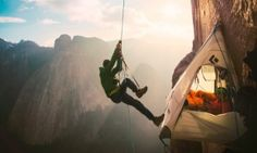Yosemite duo summit world's 'toughest climb' on El Capitan | US news | The Guardian » Congrats to Tommy and Kevin, absolutely amazing!