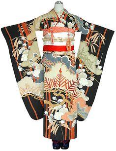 antique kimono for wedding