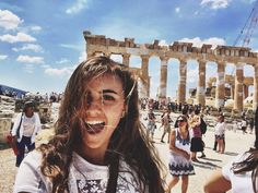 Athens, Greece. The Parthenon. The Brunette abroad.