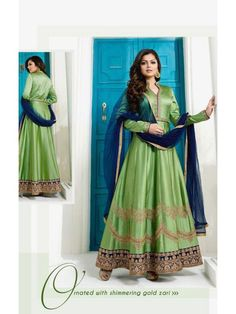 Other Women's Clothing Indian Designer Floor Length Anarkali Suit Pakistani Wedding Salwar Kameez I4 Relieving Rheumatism And Cold Clothing, Shoes & Accessories