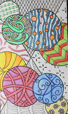 Coloring Book/Journal Insert for Midori Style Traveler's Notebooks In 4 Sizes Fauxdori Original Art work Zentangle Inspired by AORJournals from AOR Journals by Ann. Find it now at http://ift.tt/21OqlOC!
