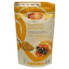 Linwoods Ground Flaxseed and Goji Berries, 8 Oz (227 G) -- Don't get left behind, see this great product offer  : Baking supplies