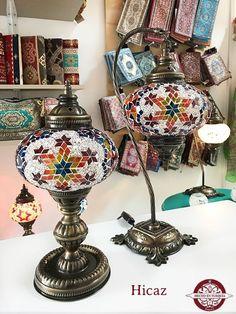 Lámpara turca de mesa #3 - Hecho en Turquía Turkish Lamps, Led, Lights, House, Bulbs, Glass, Mosaics, So Done, Mesas