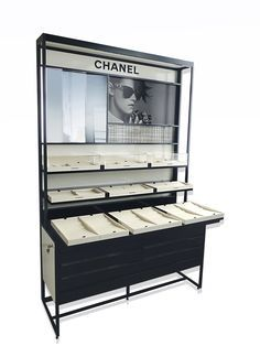Choose best Eyeglass frame displays shelf wall black suppliers and best eyeglass frame displays manufacturers. Jova Display Furniture co. offers clients affordable modern shop furniture for jewelry watch,cosmetic,clothing and more. Pop Display, Frame Display, Display Design, Display Shelves, Store Design, Shelf Design, Display Ideas, Shop Interior Design, Retail Design