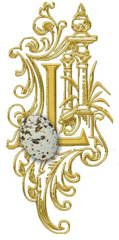 CH.B *✿* GOLD EASTER ....L