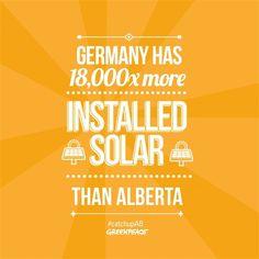 Tarsands Blinding Alberta to Its True Renewable Potential | Greenpeace Canada