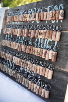 25 Awesome Vineyard Wedding Favors | HappyWedd.com