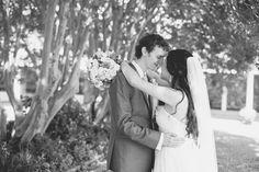 Catholic Church Summer Wedding   Bride and groom portraits