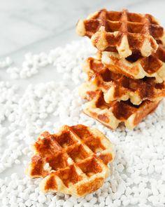 Treats: Liege Waffles
