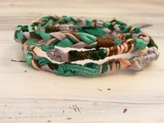 Hippie Wrap Boho Tie On Bracelet Necklace by YourGreatestStory