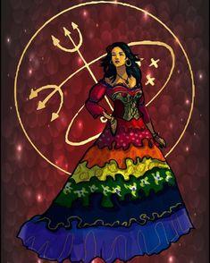 Monroe Rodriguez Sikh Diviner — Exu Veludo #veludo #encruzilhada #pombagira... Brazilian Martial Arts, Divine Goddess, Orisha, Afro Art, Book Of Shadows, Gypsy Style, Black Art, Female Art, Pagan