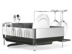 This Is the Cadillac of Dish Racks   Wnat an instant upgrade to your kitchen? Replace your dish rack