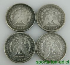 Item specifics     Certification:   Uncertified   Composition:   Silver     Year:   1887, 1891, 1898 & 1921   Country/Region of Manufacture:   United States    ...