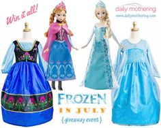 Coming July 5-20: #FROZEN in July #Giveaway Event!
