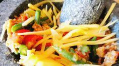 Green papaya salad- Gordon Ramsay