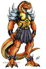 ghengis rex color by godzilla kaiju (Mike The Tyrannosaur) Tags: dinosaucers
