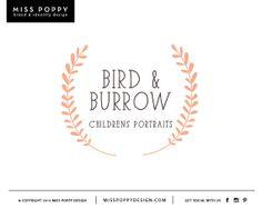 Boutique Pre Made Logo Design- 'Bird & Burrow'