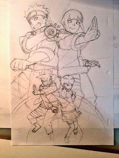 Boruto, Himawari, Naruto, Hinata