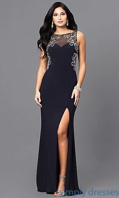 769879ad623 Shop navy blue long prom dresses at Simply Dresses. Junior-sized evening  gowns with