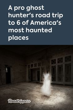 From cemeteries to abandoned asylums, professional ghost hunter Steve Gonsalves picks his favorite haunted road trip destinations. Most Haunted Places, Scary Places, Mysterious Places, Creepy Things, Abandoned Amusement Parks, Abandoned Places, Abandoned Asylums, Abandoned Castles, Abandoned Mansions