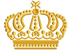 crown Machine Embroidery Designs instantly by MarinaARTsEmbroidery