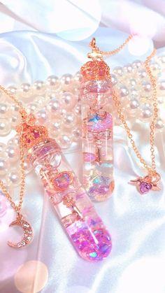 Kawaii Jewelry, Kawaii Accessories, Cute Jewelry, Jewelry Accessories, Magical Jewelry, Accesorios Casual, Fantasy Jewelry, Fairy Jewelry, Resin Crafts