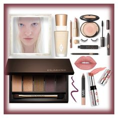 """""""Clarins"""" by bren-johnson ❤ liked on Polyvore featuring beauty, Clarins, Charlotte Tilbury, DUO, tarte, Ciaté, Topshop and NARS Cosmetics"""