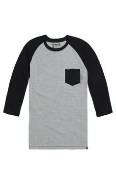 Hurley Nubby Raglan T-Shirt #pacsun