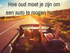Weet jij dat je minimaal 23 jaar moet zijn om een auto te mogen huren? Lees er meer over op het blog van Sunny Cars.