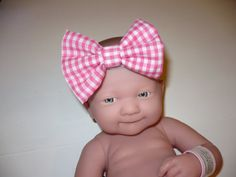 CHOOSE YOUR SIZE Women Children Pink Gingham by Goodtreasures123