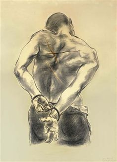 Prisoner By Yasuo Kuniyoshi