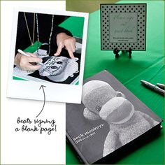 Favorite Photo Books as Wedding Guest Books