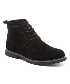 Look what I found on #zulily! Black Zion Ankle Boot #zulilyfinds