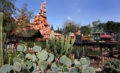 """36. Big Thunder Mountain Railroad opens at Disneyland (1979) In September 1979, Disneyland welcomes the first version of Big Thunder Mountain Railroad - the """"wildest ride in the wilderness""""."""