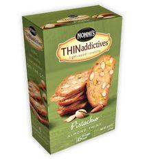 Nonni's Biscotti THINaddictives Pistachio Almond Thins