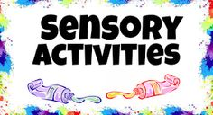 This site has TONS of awesome sensory activities. They would be great for visually impaired children.