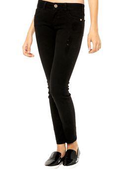 37fa6bae6 Calça Jeans Colcci Preta - Compre Agora | Dafiti Brasil Calça Jeans Colcci,  Preto,