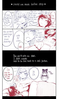 Weiss is more kind now by NDGD on DeviantArt