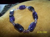 OOAk Amethyst BraceletBuy one item and get a second one free, I pay the slice, Great Deal! Save for Christmas!