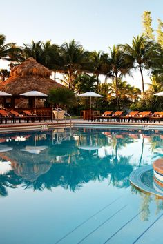 Cool off by going for a dip in the hotel's pool. #Jetsetter The Palms Hotel & Spa (Miami Beach, Florida)