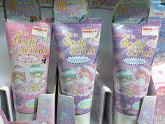 Kiki&Lala in Tokyo store Japan matryokeshi: Body scrubs ft. Kiki&Lala in Tokyo store Japan Aesthetic Images, Pink Aesthetic, Japanese Aesthetic, Little Twin Stars, Sanrio, Body Care, Holi, Barbie, Skin Care