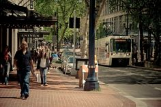Take a stroll downtown and just enjoy people watching in Portland.