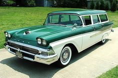 '58 Ford Country Sedan Station Wagon Brought to you by #House of #Insurance in Eugene, Oregon